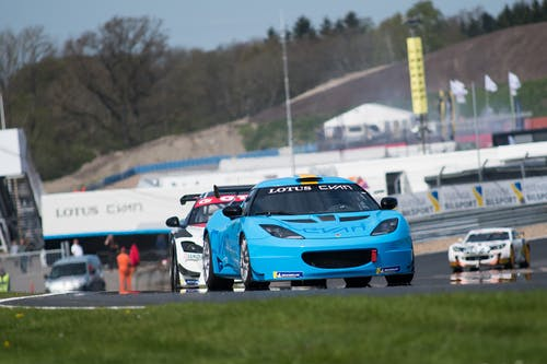 Victory for Lotus Cyan Racing in first Swedish GT race of 2018