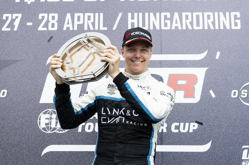 ​Lynk & Co Cyan Racing secures two podiums in crash-filled WTCR weekend