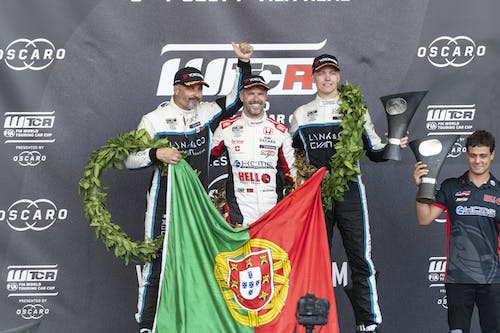 ​Yvan Muller and Yann Ehrlacher claim emotional double podium in Portugal