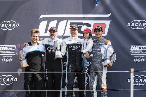 ​Thed Björk and Yvan Muller heads Lynk & Co Cyan Racing 1-2 at Zandvoort