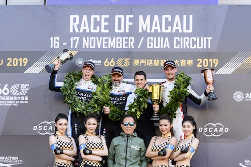 ​Historic hat-trick in Macau as Lynk & Co Cyan Racing claims three wins and four podiums