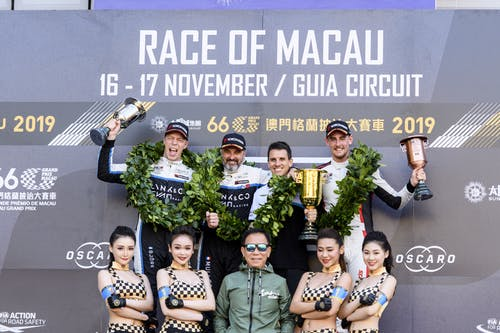 Historic hat-trick in Macau as Lynk & Co Cyan Racing claims three wins and four podiums