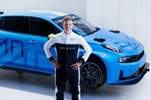 ​Youngster completes Lynk & Co Cyan Racing dream WTCR team