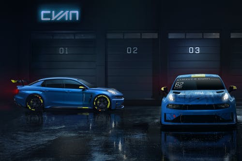 ​Cyan Racing unveils 500-hp concept car and World Touring Car programme with Lynk & Co