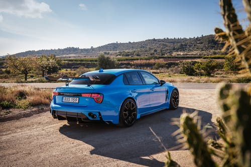 """First video of the 528-hp Lynk & Co 03 Cyan Concept road car during testing in Spain: """"A development platform for production cars"""""""
