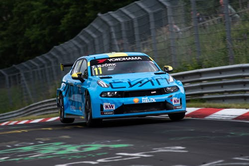​Lynk & Co Cyan Racing fights crazy Nürburgring weather to top five qualifying