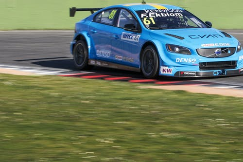 Strong first test day at Vallelunga for Polestar Cyan Racing