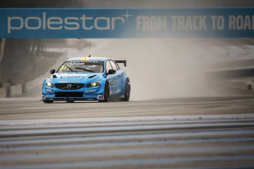 Polestar Cyan Racing on front row of WTCC season start