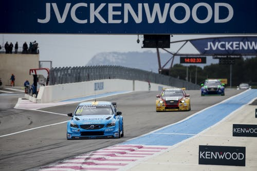 World championship points for Polestar Cyan Racing in WTCC debut