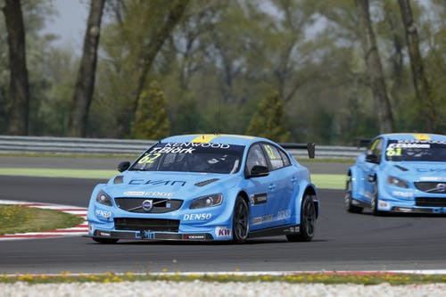 Thed Björk misses WTCC Q3 in Slovakia by hundredths of a second