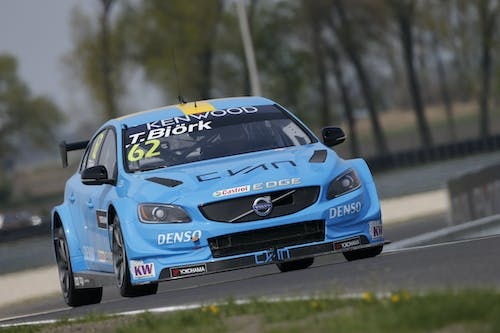 Thed Björk secures best ever WTCC result with last-lap pass
