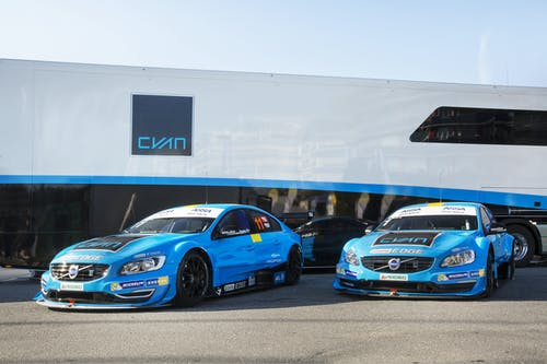 Polestar confirms multi-year STCC programme with Cyan Racing