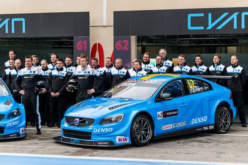 VIDEO: The first WTCC race of 2016 for Polestar Cyan Racing