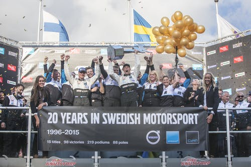 Thed Björk claims historic STCC title for Polestar Cyan Racing