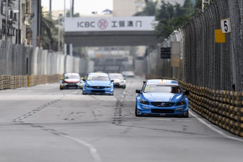 Vital performance from Thed Björk in manic Macau qualifying