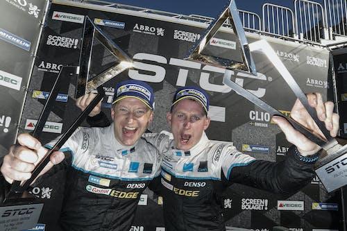 Dahlgren and Göransson share wins in fiery STCC season opener