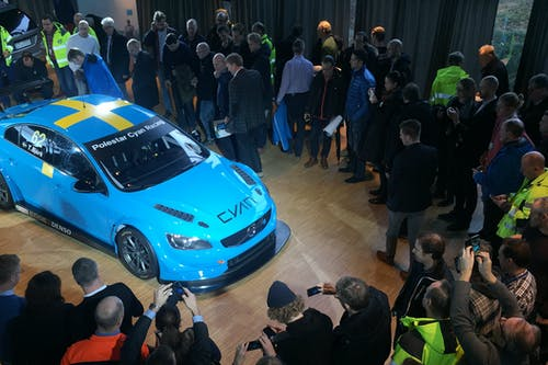 Polestar Cyan Racing WTCC launch for Volvo employees