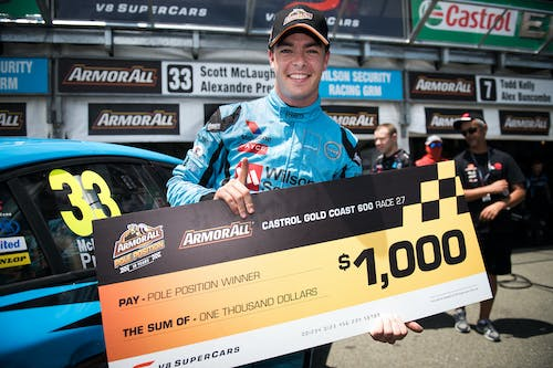 Pole position and top-six Gold Coast finish for Volvo Polestar Racing