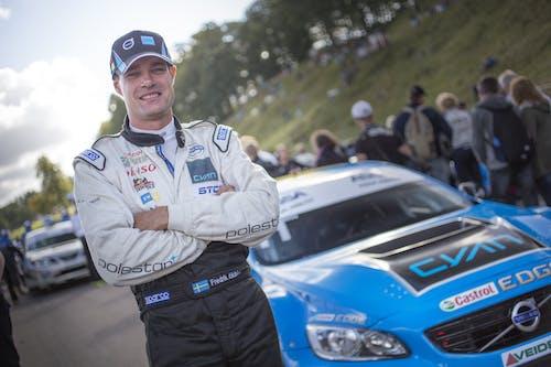 Ten questions with Polestar Cyan Racing driver Fredrik Ekblom