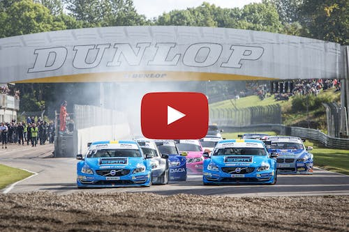 Video: Join Polestar Cyan Racing in the historic 2015 STCC title fight