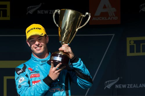 Scott McLaughlin scores podium in first New Zealand race day