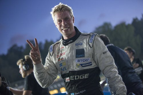 Thed Björk claims pole and extends championship lead at Solvalla