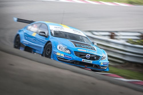 Thed Björk and Fredrik Ekblom share STCC finale pole positions