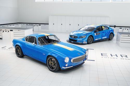World Champions Cyan Racing brings the Volvo P1800 Cyan and World Title winning Volvo race car to Bernina Gran Turismo
