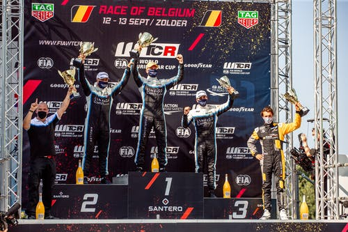 Yann Ehrlacher leads historic Lynk & Co Cyan Racing 1-2-3 to double points lead