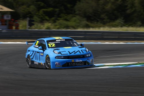 Santiago Urrutia fastest Lynk & Co Cyan Racing driver in tough Estoril qualifying