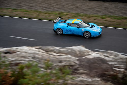 Victory in sight for Lotus Cyan Racing in the Swedish GT season finale