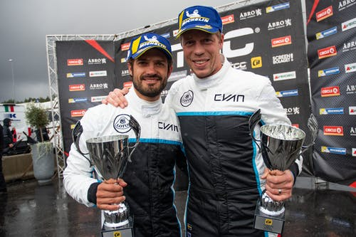 Lotus Cyan Racing fights crashes and torrential rain to double podium in Norway