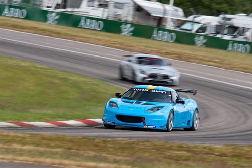 Top five in tough Anderstorp qualifying for Lotus Cyan Racing