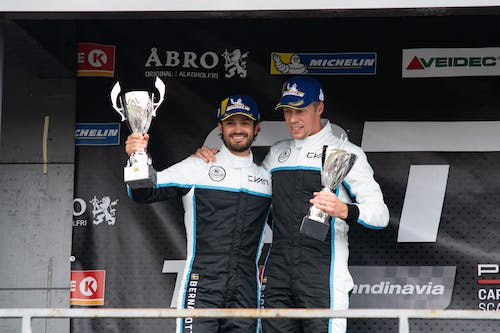 Prince Carl Philip and Thed Björk fights back to the podium at Anderstorp